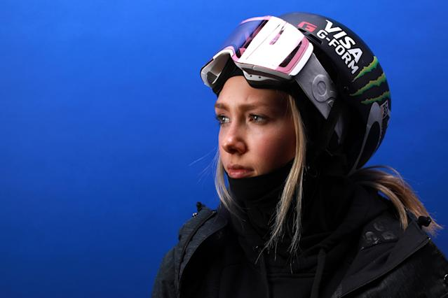 <p>Freestyle Skier Maggie Voisin poses for a portrait during the Team USA Media Summit ahead of the PyeongChang 2018 Olympic Winter Games on September 26, 2017 in Park City, Utah. (Photo by Ron Jenkins/Getty Images) </p>