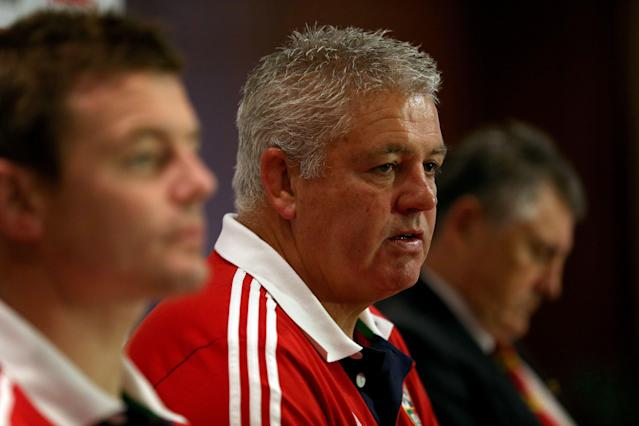 Warren Gatland accused the Australians of filming British and Irish Lions training sessions in 2013