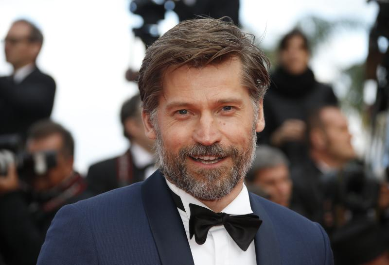 """71st Cannes Film Festival - Screening of the film """"Sink or Swim"""" (Le grand bain) out of competition - Red Carpet Arrivals - Cannes, France, May 13, 2018 - Nikolaj Coster-Waldau arrives. REUTERS/Jean-Paul Pelissier"""