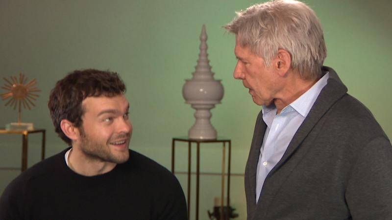 Harrison Ford Gives Alden Ehrenreich 'Spectacular' Review After Epicly Surprising Young Han Solo (Exclusive)