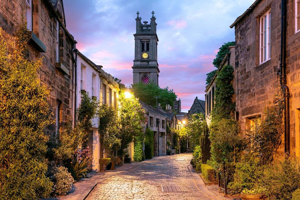 <p>Straight out of a story book, the enchanting alleyways of Edinburgh are the perfect place to let children burn off energy as they race across the cobbles.</p><p>Some alleys (like Circus Alley pictured) are more residential and cosy, while others are lined with fudge shops, trinket boutiques and all sorts of other places to pick up some goodies. </p>