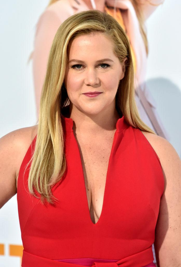 Amy Schumer has been documenting her endometriosis battle on Instagram, pictured in April 2018. (Getty Images)