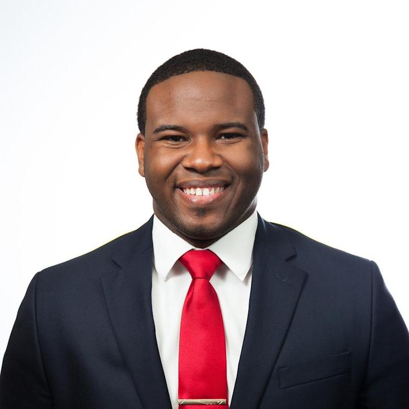 Botham Jean was shot by Guyger as he ate ice cream in his apartment (Picture: Facebook)