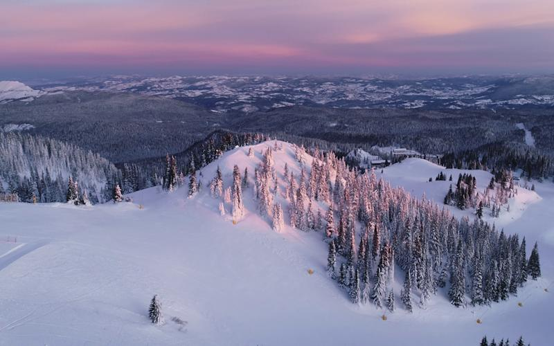 Jahorina and Bjelasnic are two of Bosnia's ski resorts