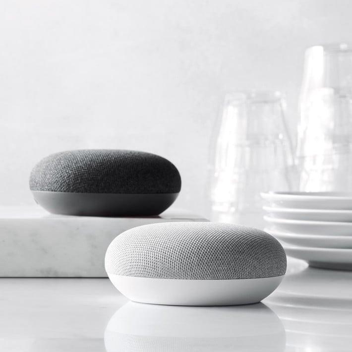 <p>Think of this <span>Google Home Mini</span> ($49) as a built-in personal assistant for hands-free help while you're meal-prepping. The voice-activated speaker powered by the Google Assistant is ready to answer any questions, make any calls, or control your other smart devices.</p>