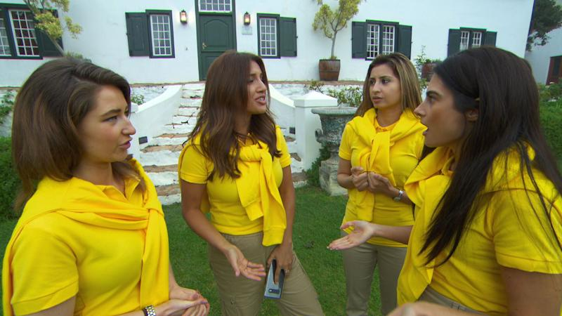The girls team won the first task on The Apprentice. (BBC)