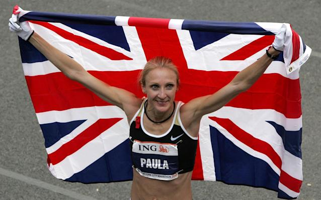 Paula Radcliffe's husband is Mo Farah's coach and she herself is sponsored by Nike - Getty Images North America
