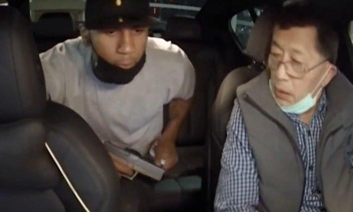 <p>Taiwanese Lyft driver pistol whipped in LA attack caught on dashcam</p> (KMOV)
