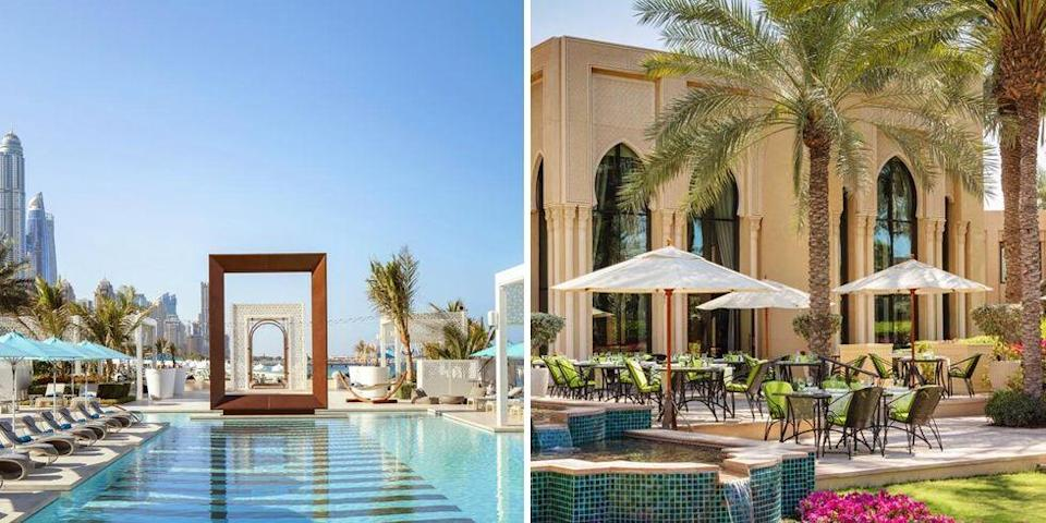 """<p>Surrounded by 65 acres of landscaped lawns, woozy palms and a stretch of private beach, this resort provides the ultimate Dubai stay. This luxurious <a href=""""https://go.redirectingat.com?id=127X1599956&url=https%3A%2F%2Fwww.booking.com%2Fhotel%2Fae%2Fone-only-royal-mirage.en-gb.html%3Faid%3D2070929%26label%3Dtrending-summer-destinations&sref=https%3A%2F%2Fwww.redonline.co.uk%2Ftravel%2Finspiration%2Fg35851087%2Fsummer-holiday-destinations%2F"""" rel=""""nofollow noopener"""" target=""""_blank"""" data-ylk=""""slk:One&Only Royal Mirage Dubai at Jumeirah Beach"""" class=""""link rapid-noclick-resp"""">One&Only Royal Mirage Dubai at Jumeirah Beach</a> has it all, facing the bay of Palm Island and overlooking the Arabian Gulf. There are eight restaurants, three pools, tennis courts, watersports and more.</p><p><a class=""""link rapid-noclick-resp"""" href=""""https://go.redirectingat.com?id=127X1599956&url=https%3A%2F%2Fwww.booking.com%2Fhotel%2Fae%2Fone-only-royal-mirage.en-gb.html%3Faid%3D2070929%26label%3Dtrending-summer-destinations&sref=https%3A%2F%2Fwww.redonline.co.uk%2Ftravel%2Finspiration%2Fg35851087%2Fsummer-holiday-destinations%2F"""" rel=""""nofollow noopener"""" target=""""_blank"""" data-ylk=""""slk:CHECK AVAILABILITY"""">CHECK AVAILABILITY</a></p>"""