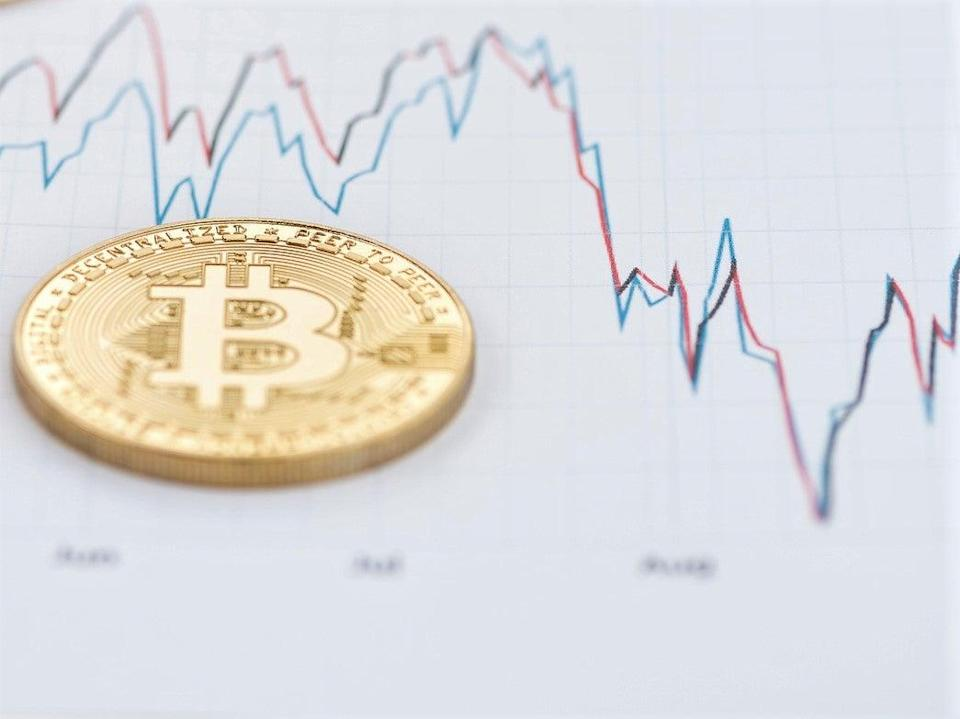 Price patterns from previous bitcoin rallies in 2013 and 2017 appear to be similar to the latest gains in 2021 (Getty Images)