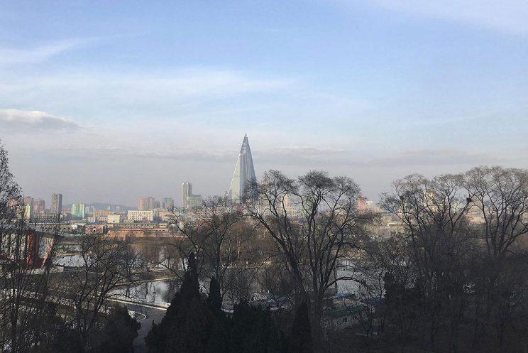 Ryugyong Hotel has laid empty for 30 years