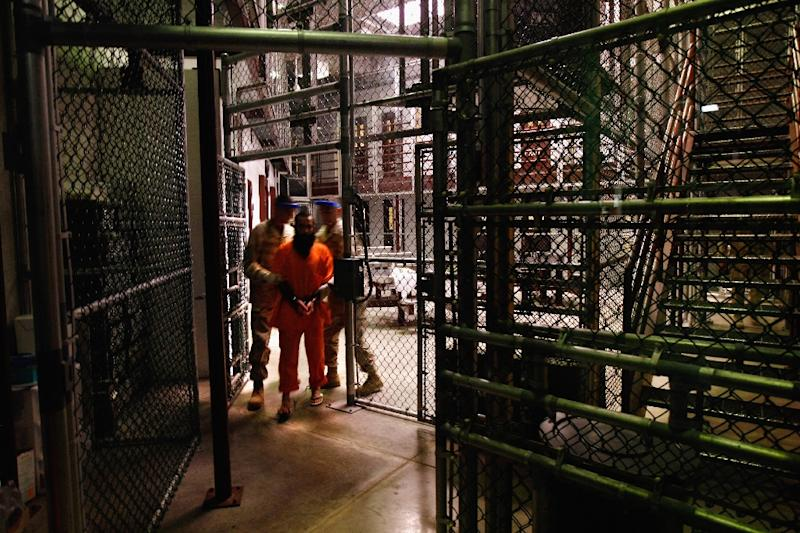 Guantanamo Bay's inmate population currently stands at 61 prisoners (AFP Photo/John Moore)