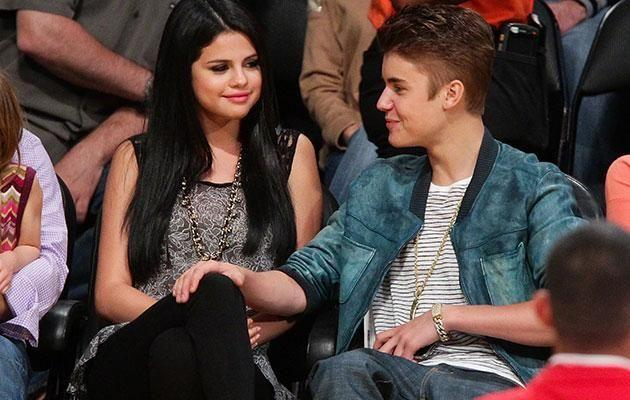 Selena Gomez and Justin Bieber. Source: Getty Images.