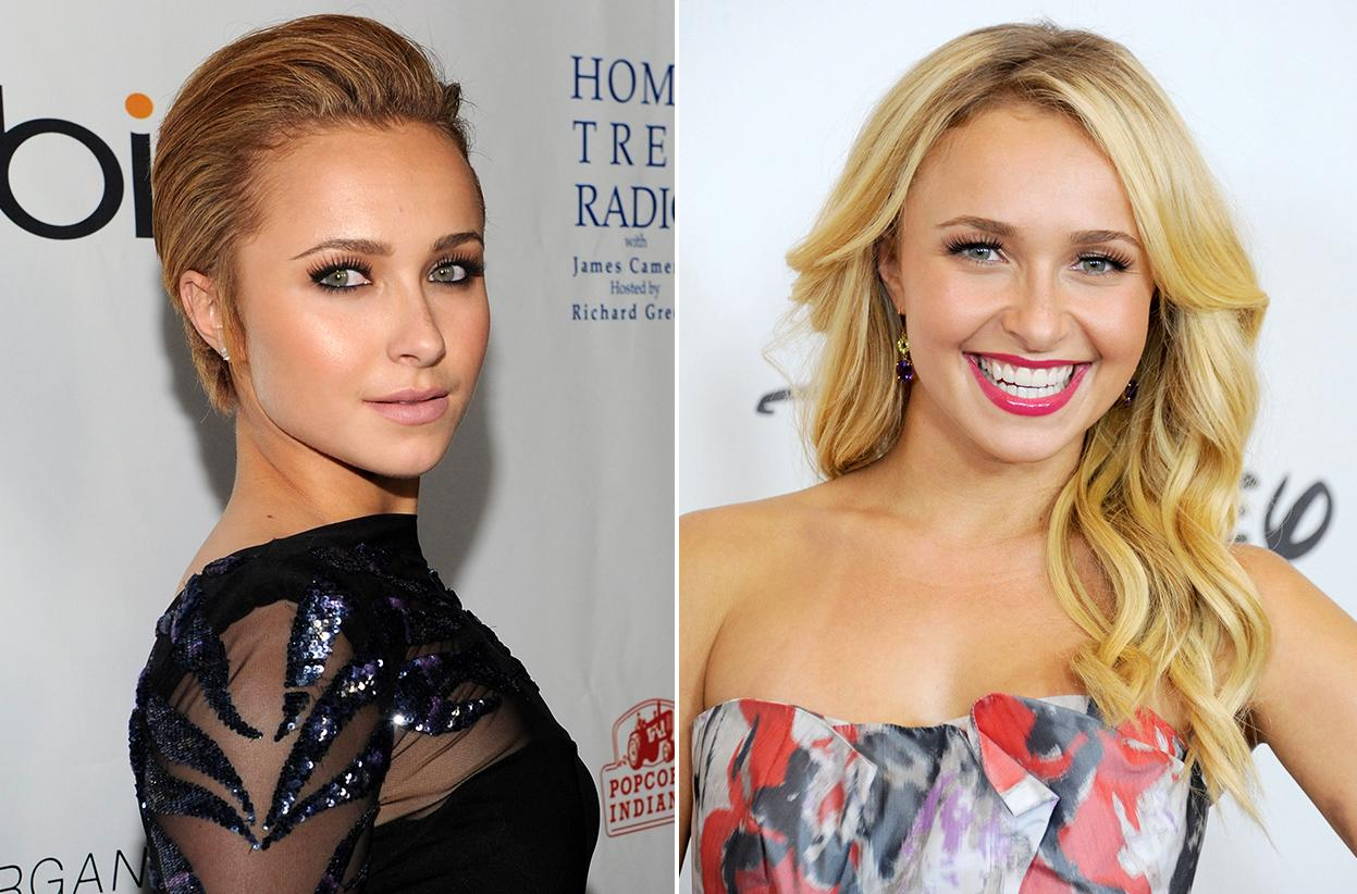 "Hayden Panettiere can certainly pull off the sexy short hair she tried in 2010. But we love the way she rocks her current long waves for her nominated role in ""Nashville."""
