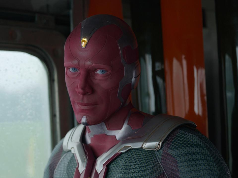 Paul Bettany as Vision in WandaVision (Marvel Studios)
