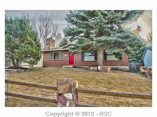 Colorado Springs, CO  4815 Nightingale Dr, Colorado Springs CO For sale: $195,000  This 2,249-square-foot ranch has a large living room with additional attached sunroom. New carpet, fixtures and appliances round out the rest of the features in the 5-bedroom, 2-bath home.
