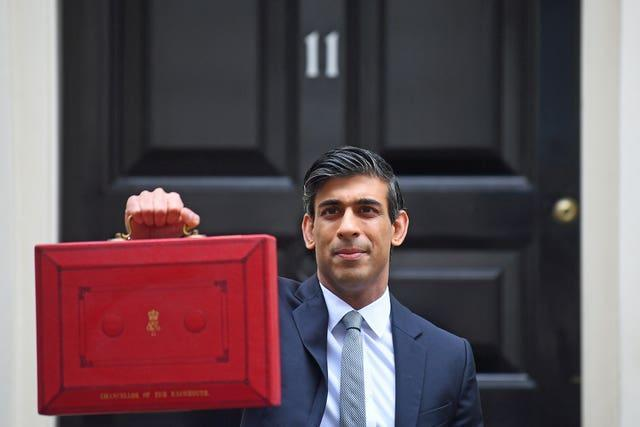 Chancellor Rishi Sunak delivered his Budget on Wednesday (Victoria Jones/PA).