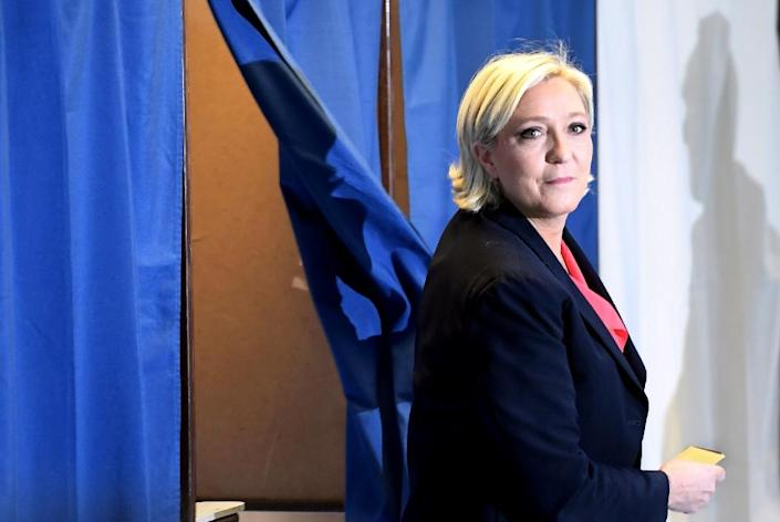 """Donald Trump once remarked that Marine Le Pen had been the """"strongest on borders and she's the strongest on what's been going on in France"""" (AFP Photo/ALAIN JOCARD)"""