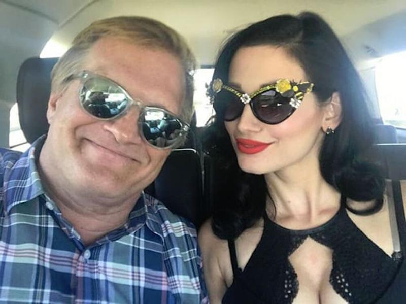 Drew Carey and Amie Harwick | Instagram