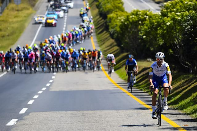 Tour Colombia 2020 3rd Edition 3rd stage Paipa Sogamoso 1777 km 13022020 Julian Alaphilippe FRA Deceuninck Quick Step photo Dario BelingheriBettiniPhoto2020