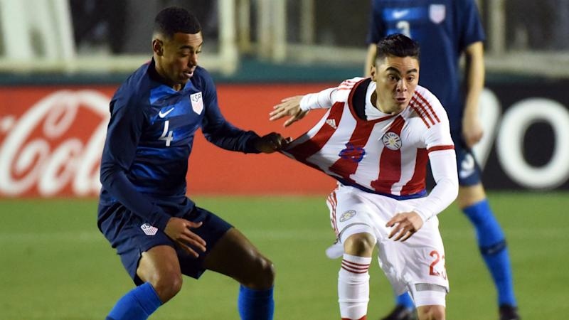 Wood penalty earns win over Paraguay
