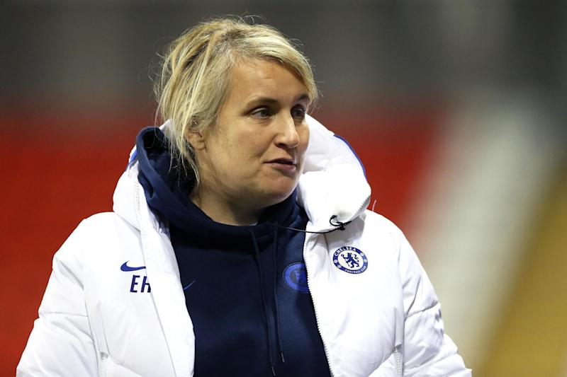 Emma Hayes is relishing playing the Continental Cup final at the City Ground Photo: Getty Images