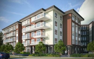Project rendering of Alder by Catalyst Community Developments. (CNW Group/Canada Mortgage and Housing Corporation)