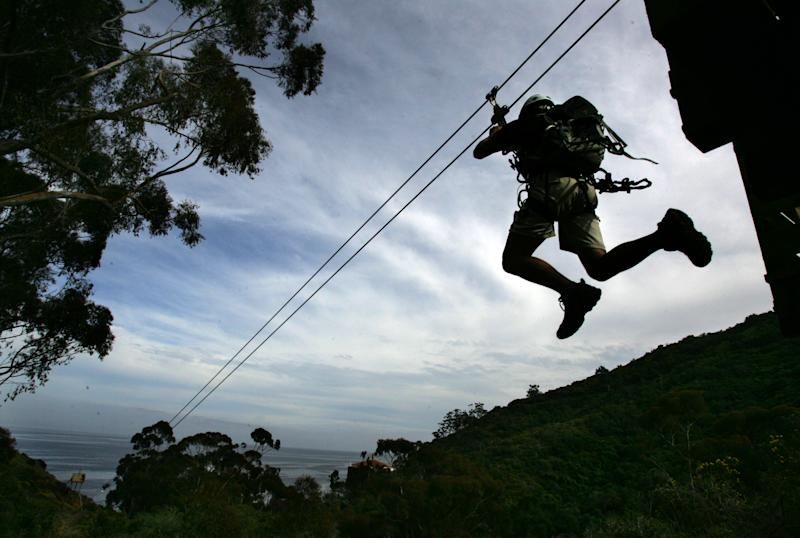Husband dies on honeymoon after colliding with wife on zip line