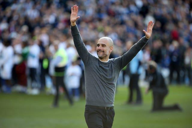 Guardiola has twice won the Premier League with City