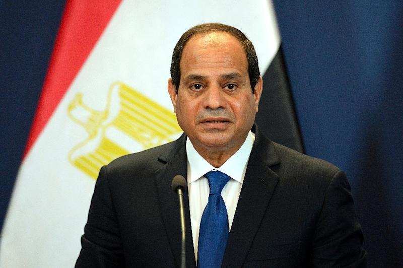 The trial has become an embarrassment for President Abdel Fattah al-Sisi, the then army chief who ousted Morsi from the presidency in 2013 (AFP Photo/Attila Kisbenedek)