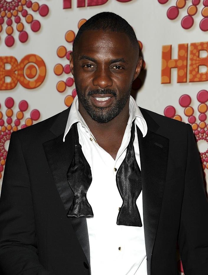 Actor Idris Elba attends HBO's post Emmy party at Pacific Design Center on September 18, 2011 in West Hollywood, California.