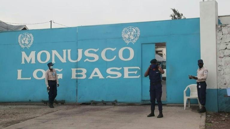 Outside UN hospital and base after Italian ambassador killed in attack