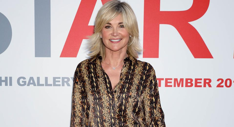 Anthea Turner, pictured in September 2019, turned 60 in lockdown. (Getty Images)