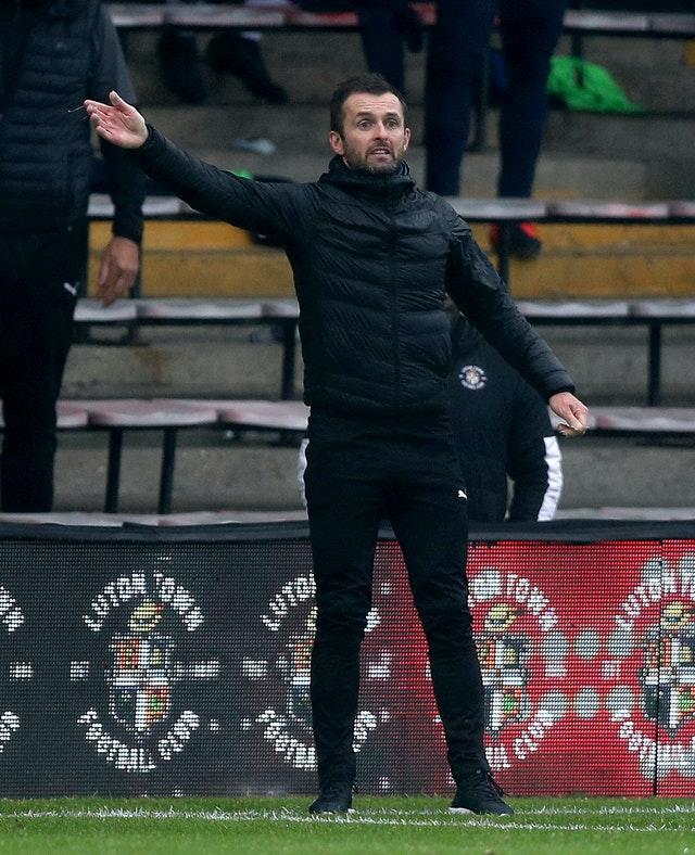 Luton have given themselves a chance of avoiding relegation following the return of manager Nathan Jones