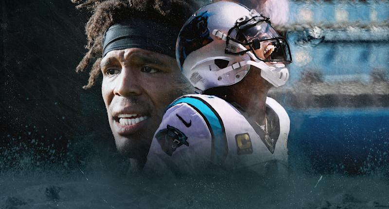 Cam Newton. (Yahoo Sports illustration by Paul Rosales)