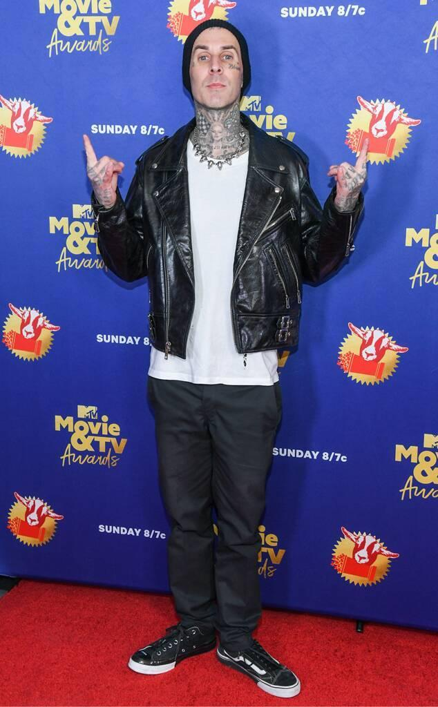 Travis Barker, 2020 MTV Movie & TV Awards: Greatest Of All Time, Red Carpet Fashions