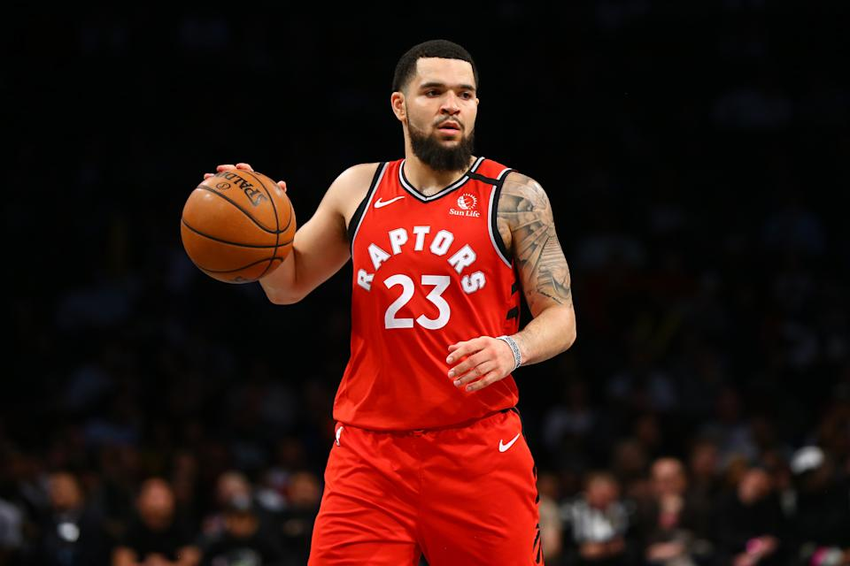 Raptors point guard Fred VanVleet wants to help even the landscape for BIPOC business owners by encouraging them to apply to American Express Canada's latest mentorship program, which includes $1 million in funding across 100 participants. (Photo by Mike Stobe/Getty Images)
