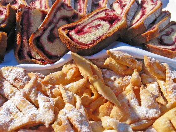 Typical local pastries in Maribor (Marko Petrej / www.slovenia.info)