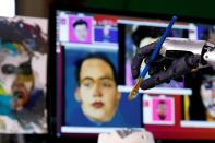 FILE PHOTO: Sophia the robot to auction off her AI artwork