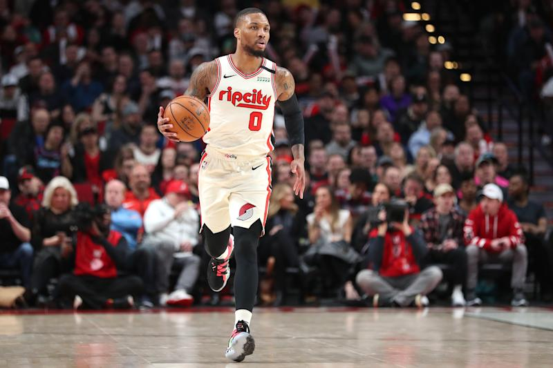 Portland star Damian Lillard suffered a groin injury just before the All-Star break last week.