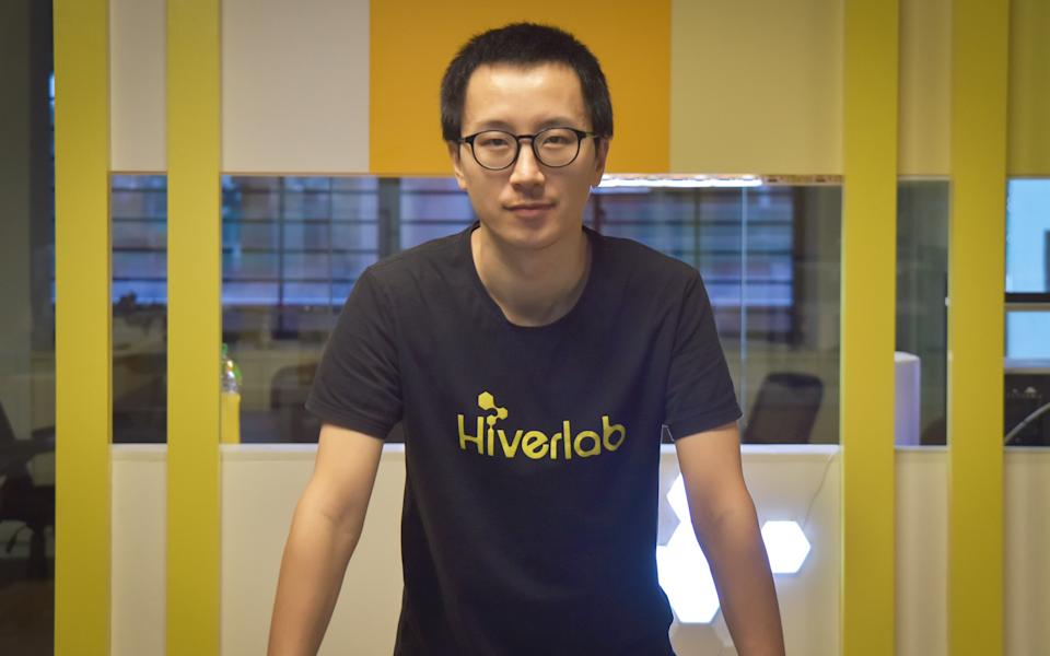 Ender Jiang, founder and CEO of Hiverlab. (PHOTO: Hiverlab)