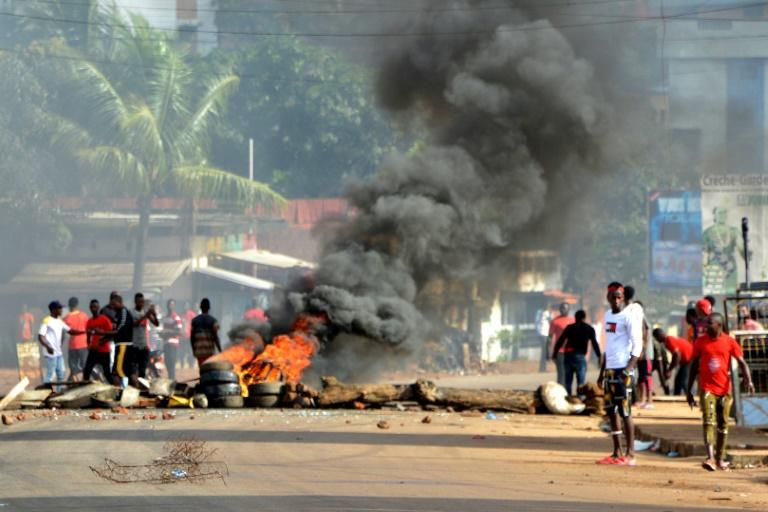 Protests have rocked Conakry and other cities earlier this month over Conde's bid to overturn term limits and run again (AFP Photo/CELLOU BINANI)