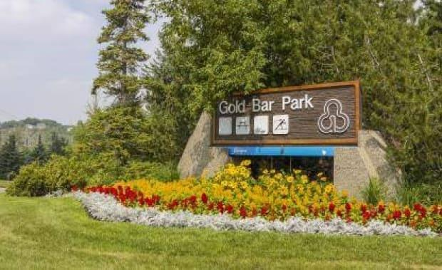 Gold Bar Park saw a big increase in the number of people using it during the summer months of the pandemic in 2020.  (Save Gold Bar Park Alliance - image credit)