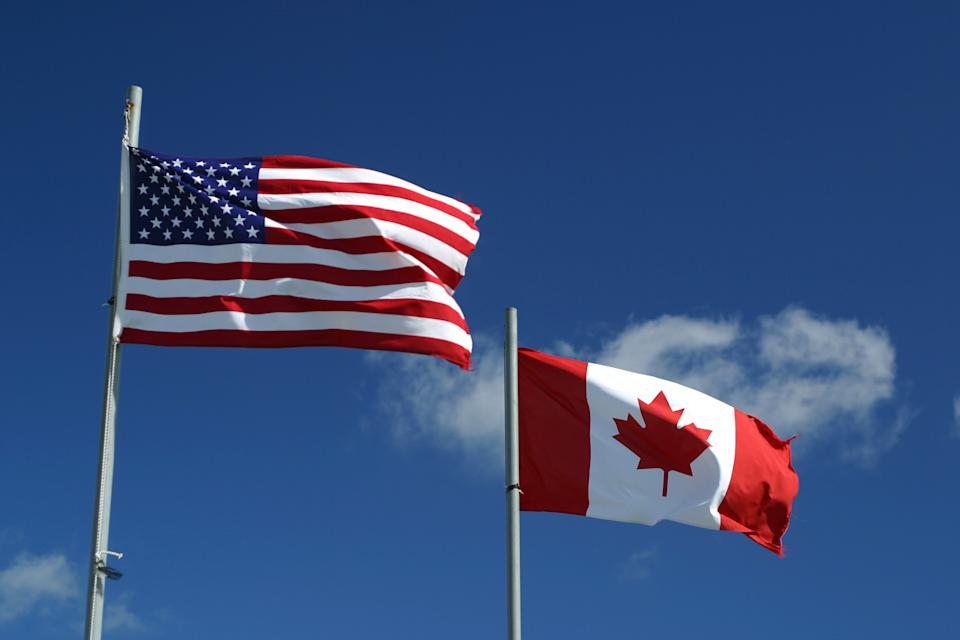 Americans are once again trying to expand their options by learning how to move to Canada, just in case they're not in favour of who wins the 2020 U.S. presidential election between Donald Trump and Joe Biden. (Credit: Getty Images)