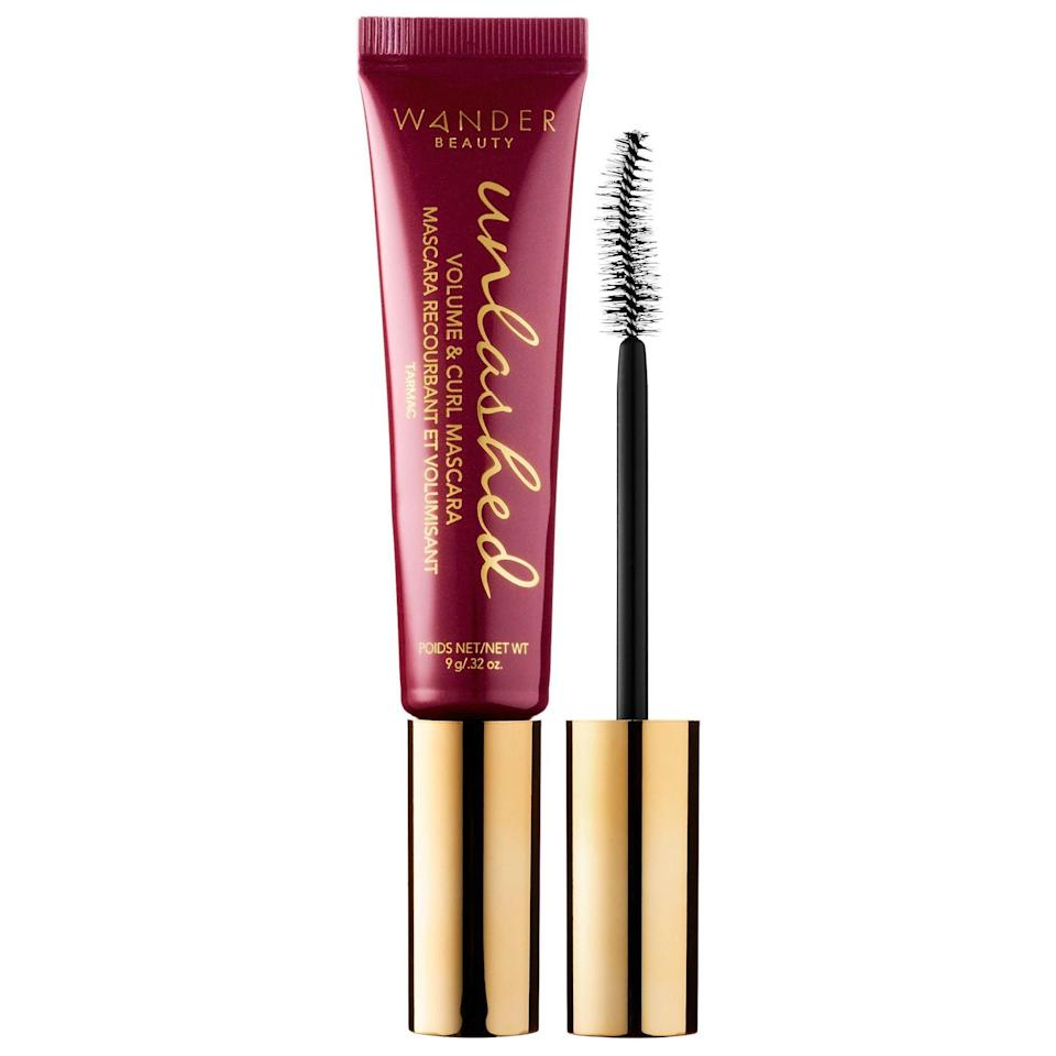 """<p>If you need to restock on a new mascara, get a free one when you shop $55 or more on <a href=""""http://wanderbeauty.com/"""" rel=""""nofollow noopener"""" target=""""_blank"""" data-ylk=""""slk:Wanderbeauty.com"""" class=""""link rapid-noclick-resp"""">Wanderbeauty.com</a> on Cyber Monday. The brand is also taking 25% off site-wide from November 21 to 26.</p><br><br><strong>Wander Beauty</strong> Unlashed Volume and Curl Mascara, $24, available at <a href=""""https://www.wanderbeauty.com/unlashed-volume-and-curl-mascara#locklink"""" rel=""""nofollow noopener"""" target=""""_blank"""" data-ylk=""""slk:Wander Beauty"""" class=""""link rapid-noclick-resp"""">Wander Beauty</a>"""