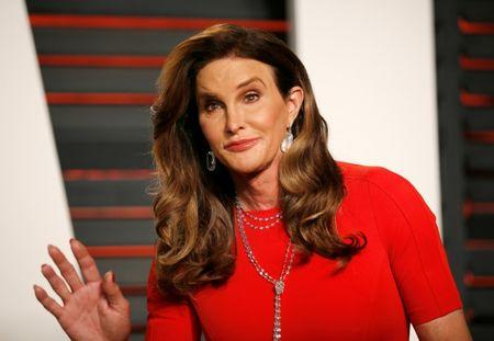 FILE PHOTO - Caitlyn Jenner at the Vanity Fair Oscar Party in Beverly Hills