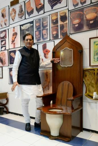 <p>Museum seeks to convince Indians that toilets are not dirty</p>