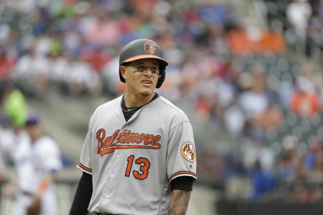 Manny Machado apologized after failing to run out a ground ball. (AP Photo)