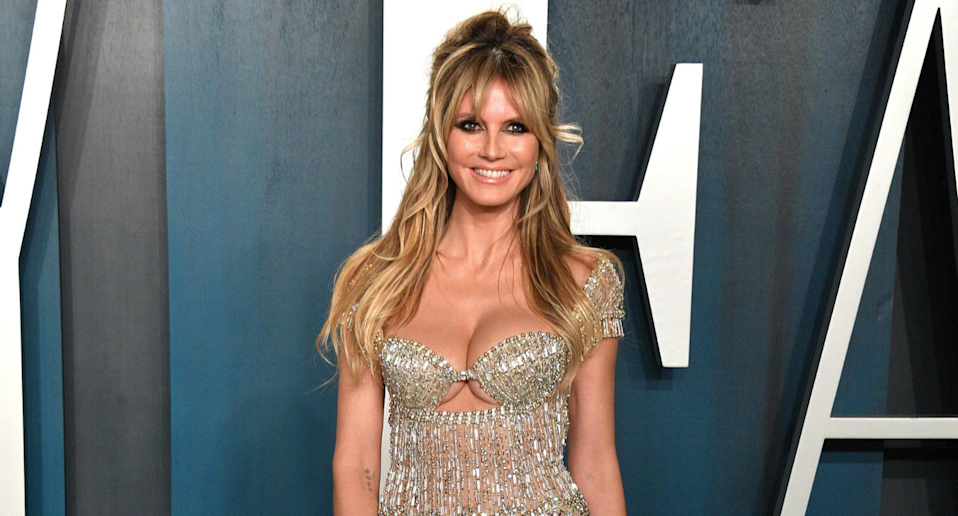 Heidi Klum's beauty routine is surprisingly simple—and affordable. Photo: Getty Images