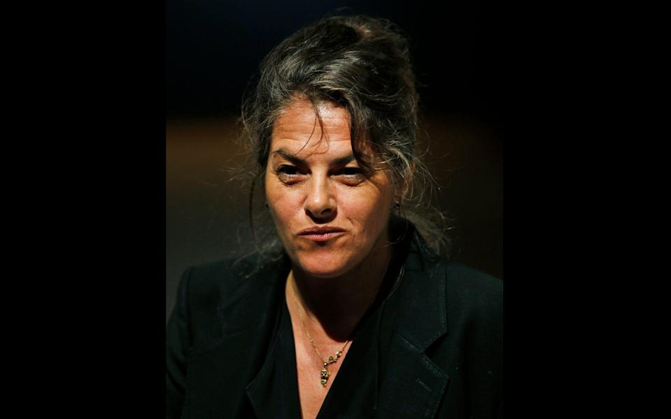 The artist Tracey Emin, who has revealed her treatment for a serious form of cancer - AP